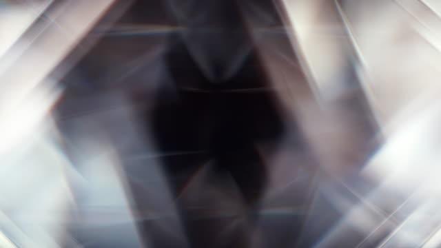 vídeos de stock, filmes e b-roll de quadrado diamond frame patter backdrop gráfico - organic shapes
