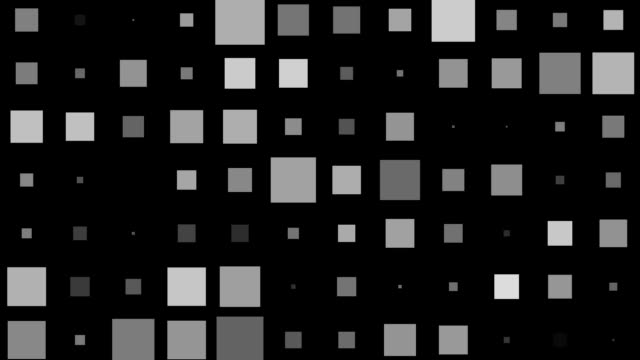Squares - background overlay transition pack - loopable parts video