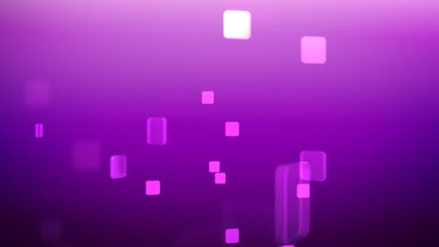 Squares Loop 01 Violet Background video
