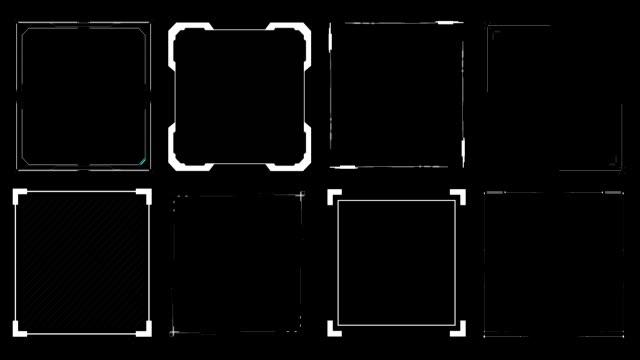 HUD Squares