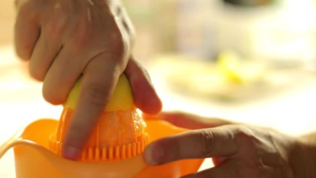 Squeezing a Lemon video