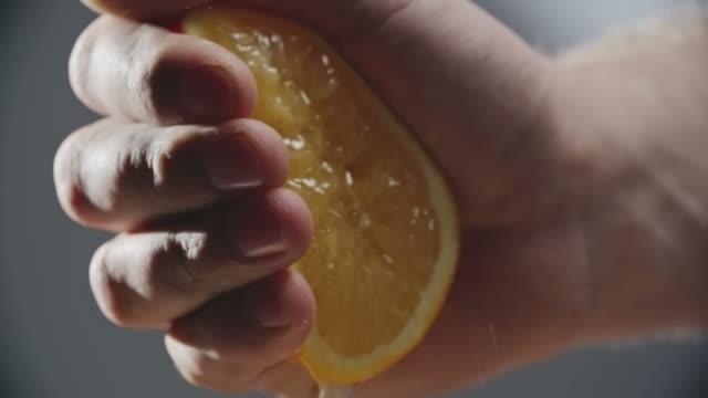 Squeezing Orange video