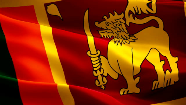 Sri Lanka flag waving in wind video footage Full HD. Realistic Sri Lanka Flag background. Sri Lanka Flag Looping Closeup 1080p Full HD 1920X1080 footage Sri Lanka flag waving in wind video footage Full HD. Realistic Sri Lanka Flag background. Sri Lanka Flag Looping Closeup 1080p Full HD 1920X1080 footage colombo stock videos & royalty-free footage