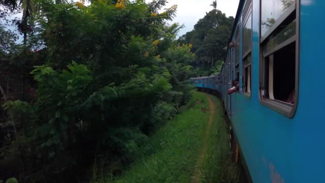 vidéos et rushes de sri-lankaise train - sri lanka