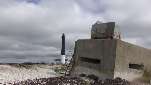 Sõrve lighthouse on Saaremaa island, Estonia