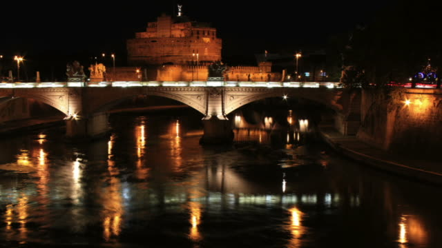 St Angelo Castle, time lapse HD video video