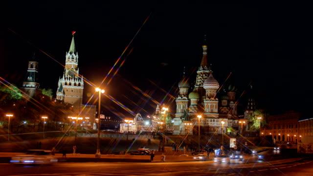 st basil cathedral och kreml. - kreml bildbanksvideor och videomaterial från bakom kulisserna