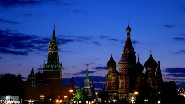 st basil cathedral och kreml. - vasilijkatedralen bildbanksvideor och videomaterial från bakom kulisserna