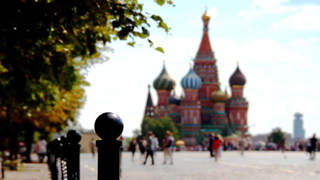 st. basil cathedral - vasilijkatedralen bildbanksvideor och videomaterial från bakom kulisserna