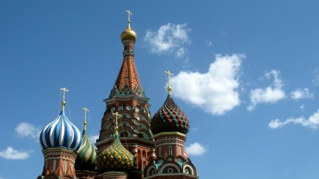 st basils cathedral in red square - röda torget bildbanksvideor och videomaterial från bakom kulisserna