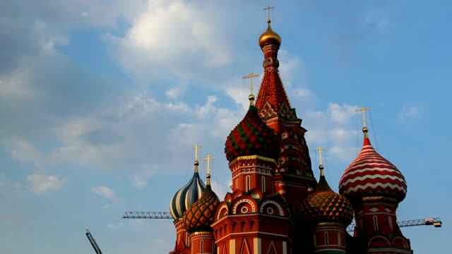 St. Basil's Cathedral. Moscow. Russia. video