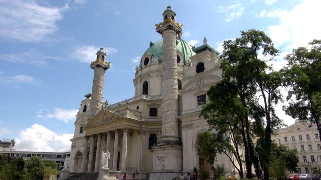 St Charles Church - Vienna, Austria video