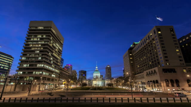st. louis old courthouse - st louis 個影片檔及 b 捲影像