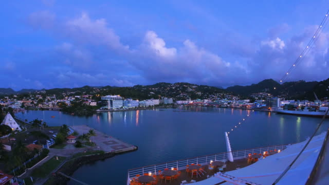 St. Lucia, view from a cruise ship