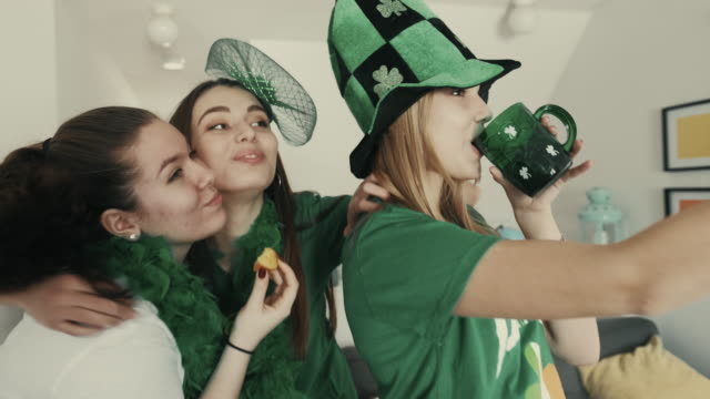 St. Patrick Girls party video