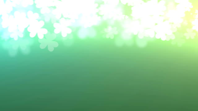 St. Patricks Animated background video