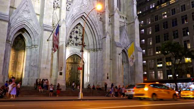 st. patrick's cathedral - gothic architecture stock videos & royalty-free footage