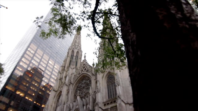 DOLLY: St Patrick's Cathedral video