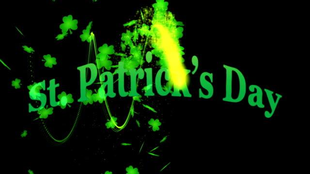 St. Patricks Day 3D Animation video