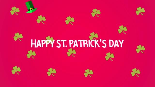 4K St. Patrick's Day Animation