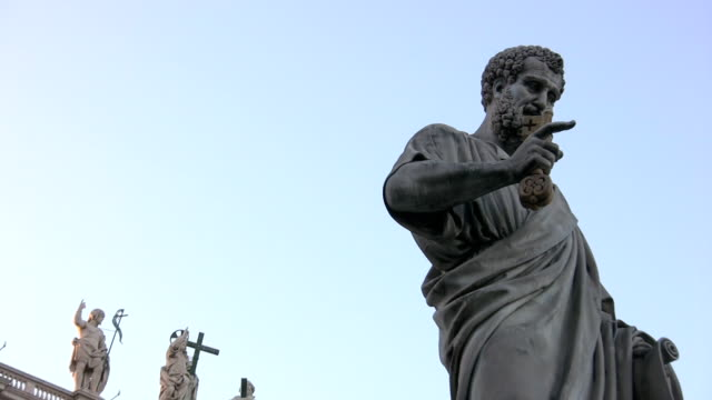 St. Peter in Vatican Square, Rome video