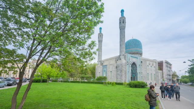 St. peterburg mosque, st. peterburg, russia video