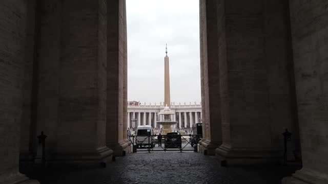 St. Peter's Square with Obelisk in Vatican