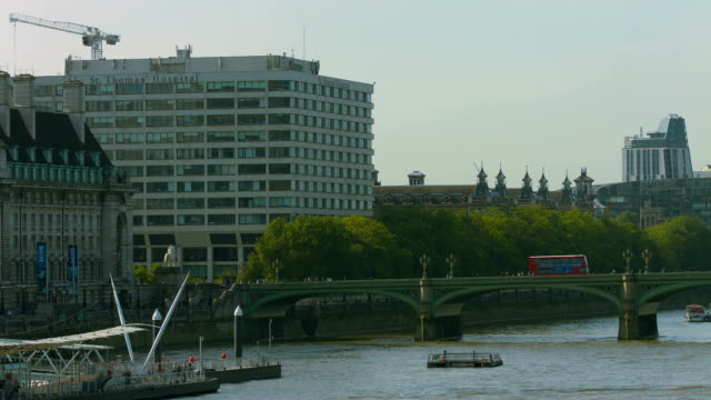 St Thomas' Hospital main building in central London. ST THOMAS' HOSPITAL, LONDON - 9 JULY 2014 The last standing original block of St Thomas' Hospital in the centre of London, opposite the Houses of Parliament. nhs stock videos & royalty-free footage