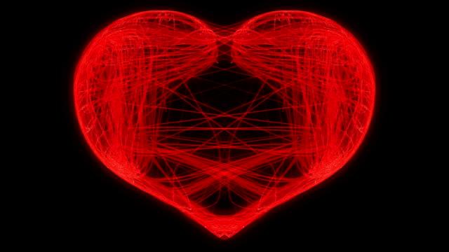 st. valentine's day weaving heart - väva bildbanksvideor och videomaterial från bakom kulisserna