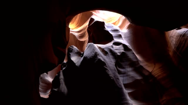 Stabilized shot .The Antelope Canyon. video
