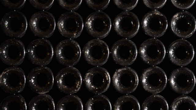 Stack of wine bottles-Bordeaux Wineyard video