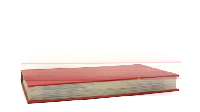 Stacking Red Books video