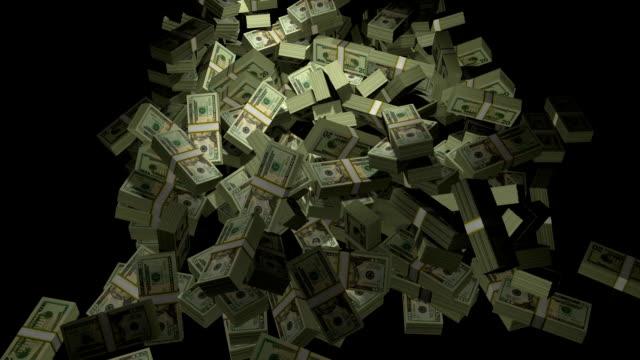 stacks of cash - kriminell bildbanksvideor och videomaterial från bakom kulisserna