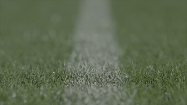vídeos de stock, filmes e b-roll de chão do estádio à noite - futebol internacional