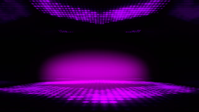 stage club led lighting dance background. seamless loop. stage background stage light stock videos & royalty-free footage