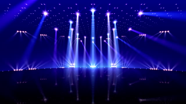 Stage Lighting 2_BfC1 Stage Lighting. electric light stock videos & royalty-free footage