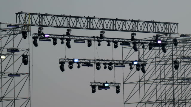 Stage Lighting Scaffold - video
