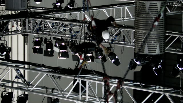 Stage lighting system video