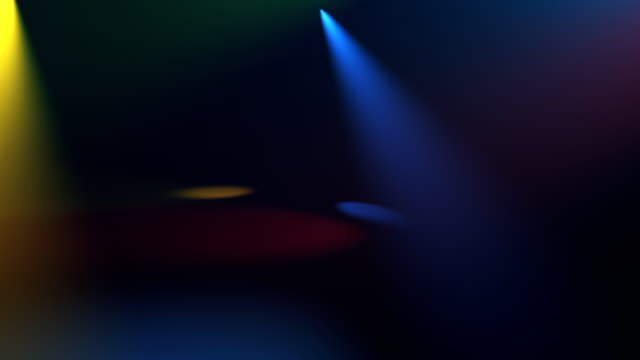 Stage lights background video