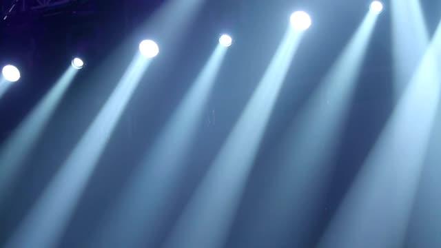 Stage Lights Scene Footage video