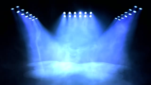Stage lights turning on and off. Seamless looping animation. Stage lights turning on and off. Seamless looping animation. electric light stock videos & royalty-free footage