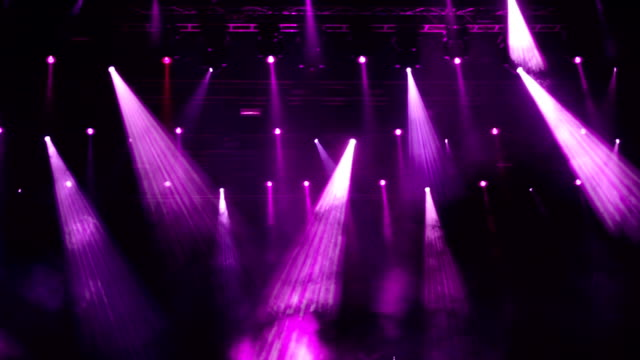 Royalty Free Stage Light HD Video 4K Stock Footage B Roll