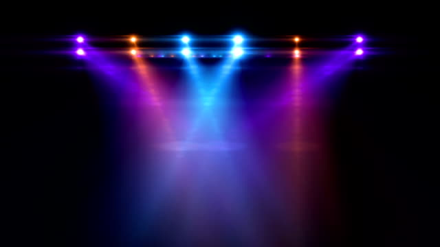 Stage Lights http://teekid.com/istockphoto/banner/banner3.jpg electric light stock videos & royalty-free footage