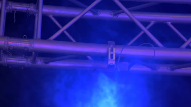 Stage Rafters and Smoke video