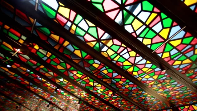 Stain Glass Light Rays
