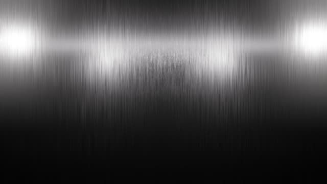 Stainless steel titanium metal background texture. Incident light on the texture of the metal. Lightening and darkening of metal. Stainless steel titanium metal background texture. Incident light on the texture of the metal. Lightening and darkening of metal. iron metal stock videos & royalty-free footage