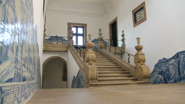 Stairs from a palace video