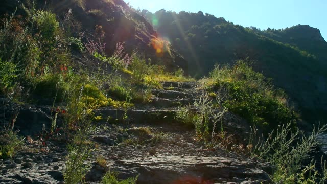 stairs on the mountain video