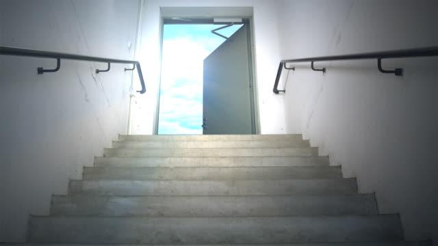 天国への階段 - ステップ点の映像素材/bロール