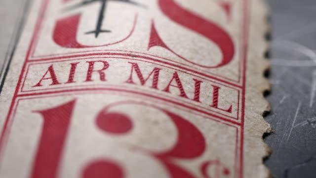 vidéos et rushes de timbres - carte postale